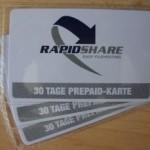Gewinnspiel: 3x 30 Tage Rapidshare Premium Account