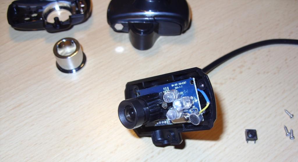 Webcam ohne Abdeckung.